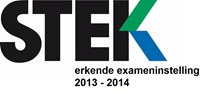 STEK logo erkende exameninstelling